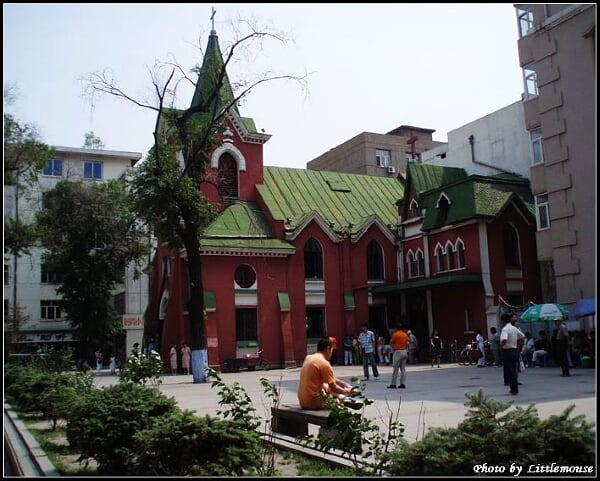教堂周边的小广场