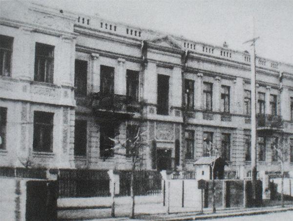 原设在南岗邮政街的哈尔滨日本宪兵队
