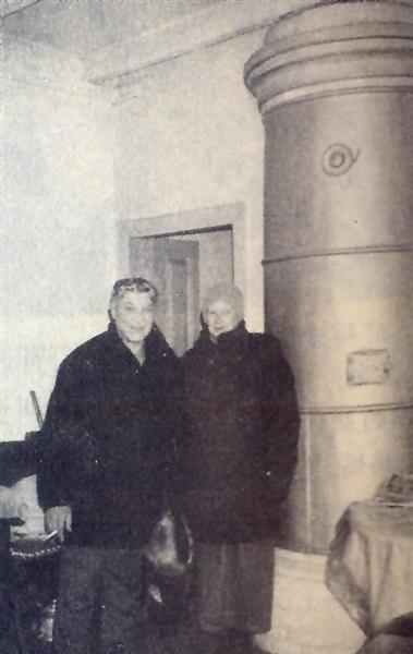 和妻子在哈市俄式民居内