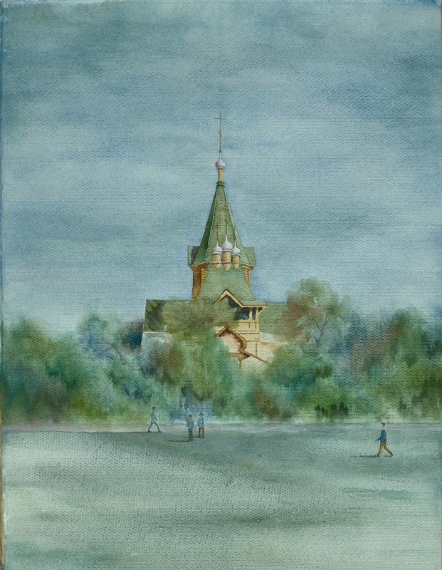哈尔滨圣尼古拉大教堂便携