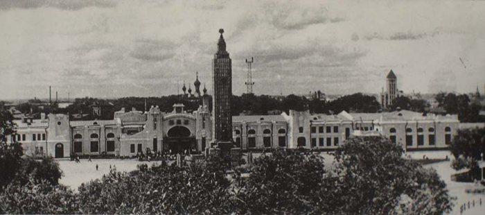 上世纪50年代的哈站