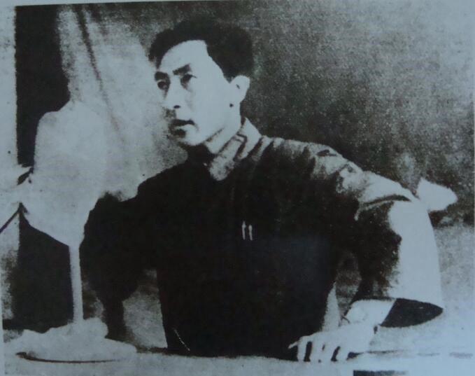 1956年时任省政协副主席的张瑞林,在政协会议上讲话