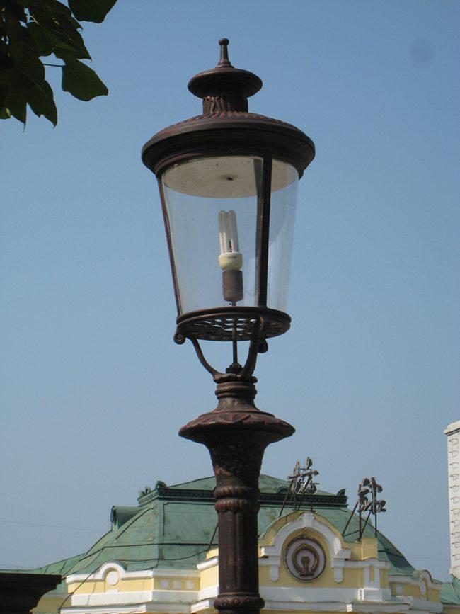 独特的欧式街灯