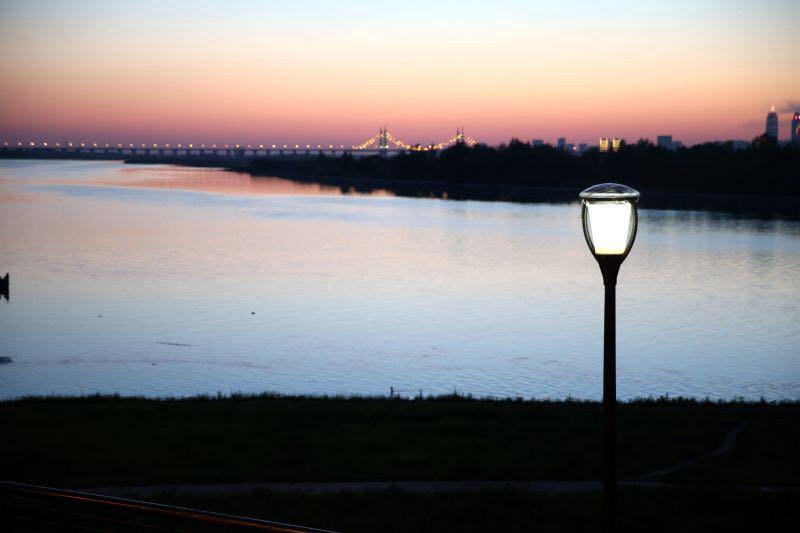 群里新区夜景