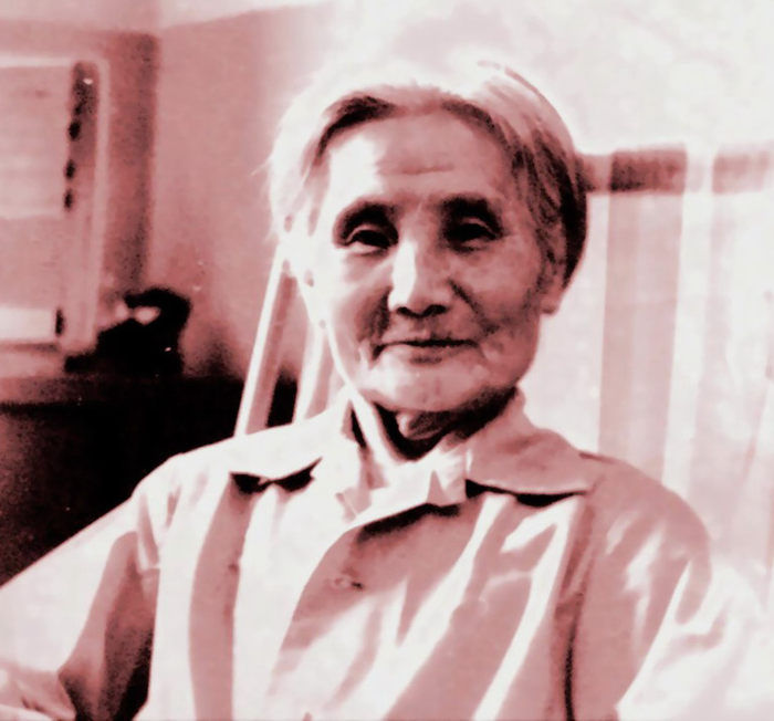 在成都晚年时期的李相云(86岁)