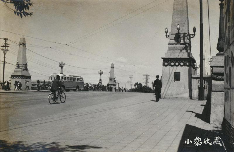 五十年代初期连接道里区与南岗区的霁虹桥