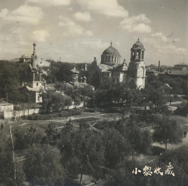 五十年代初期道里区友谊路圣母领报教堂