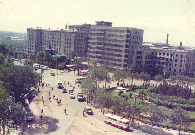 1987年南岗区中心转盘道