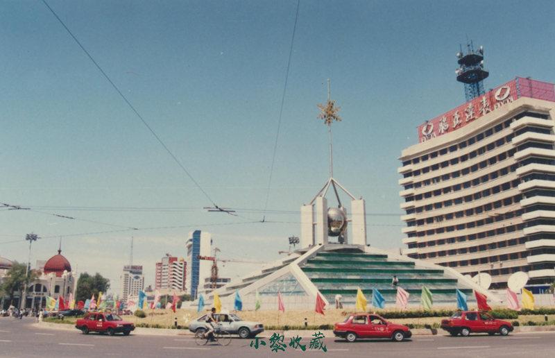 2000年南岗区中心转盘道