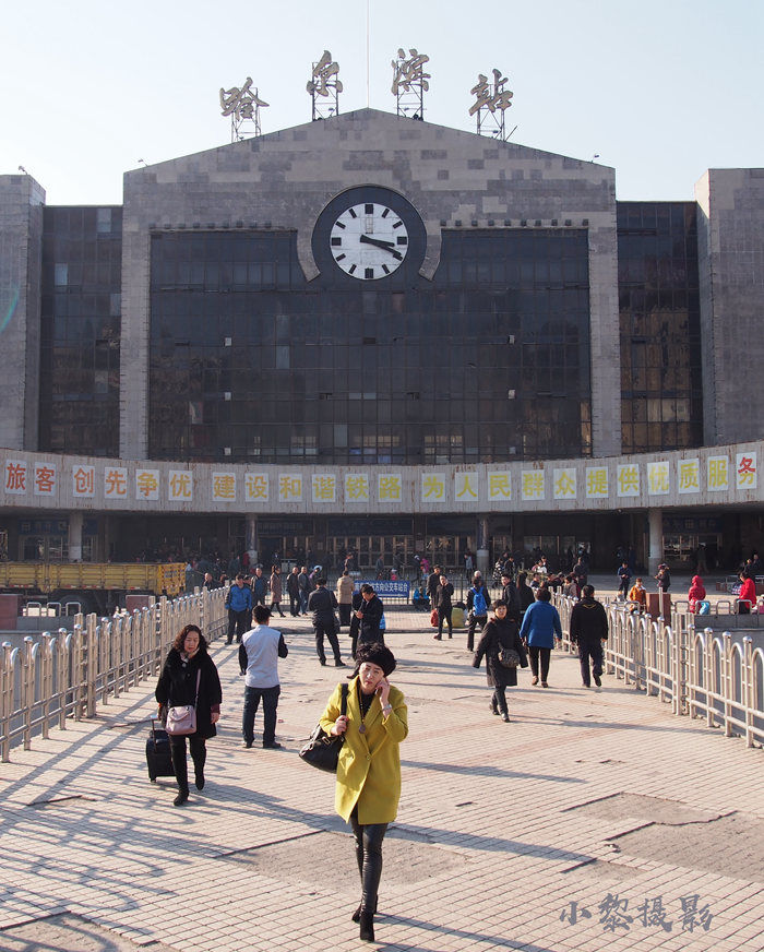 2012年哈尔滨火车站站前广场