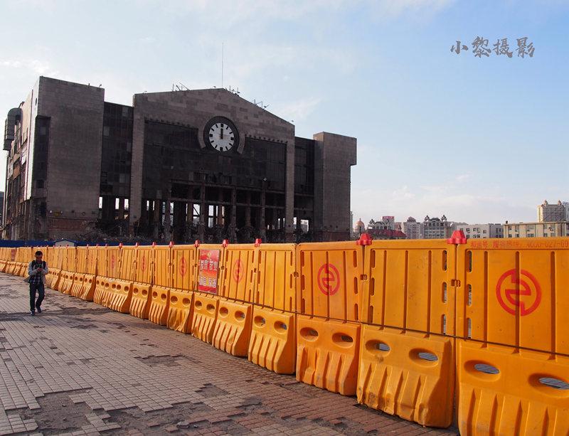 2017年哈尔滨火车站站前通道