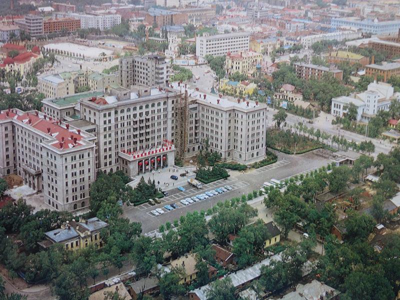 鸟瞰80年代的北方大厦(朱俊峰提供)