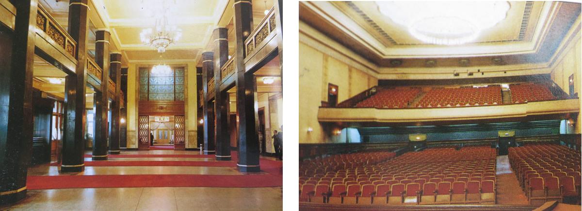 正门大厅和机场仿人民大会堂设计(资料片)