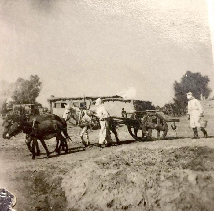防疫队员1948年,摄于内蒙古通辽