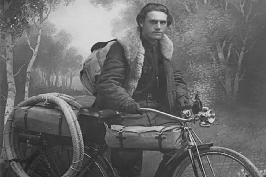 骑行8万5千公里环苏联的格列布 特拉文
