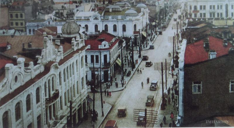 鸟瞰1930年前后的中国大街
