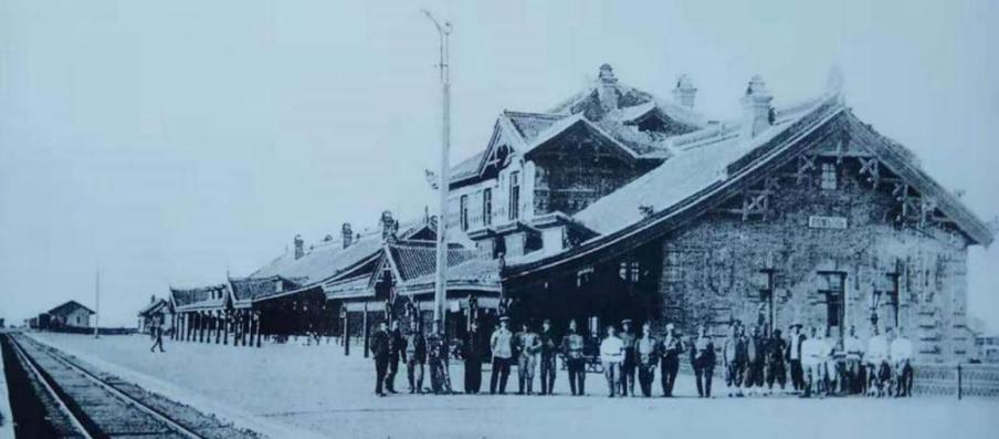 1905年的窑门站(今德惠站)