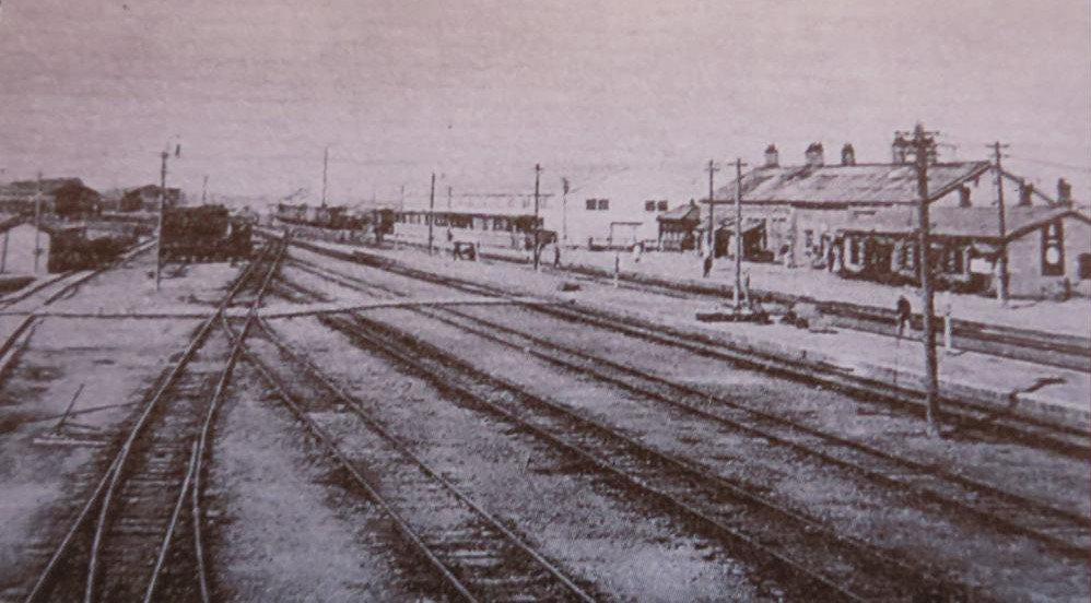 1903年的谋克敦站(沈阳站前身)