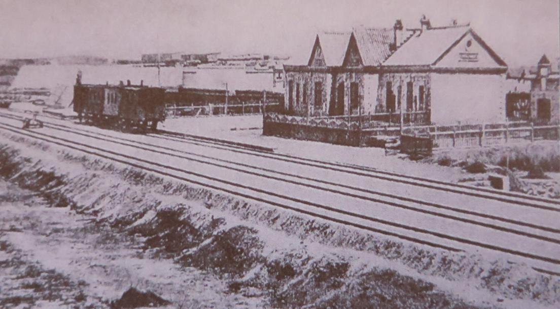 1903年的大连站(五等站)