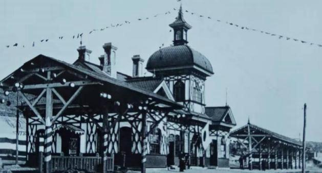 1937年的旅顺站